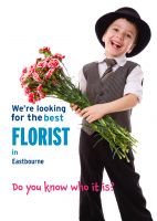 FLORIST WANTED - Claim your FREE photo shoot