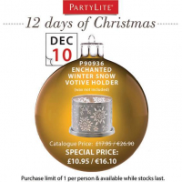 On the 10th Day of Christmas Partylite Gave to You...
