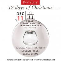 On the 11th Day of Christmas Partylite Gave to You...
