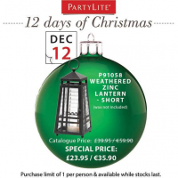 On the 12th Day of Christmas Partylite Gave to You...