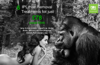 SAVE 66% - No+Vello IPL hair removal..