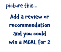 WIN A MEAL FOR 2 @ The Hidden Cellar
