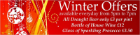 Winter Drink Offers at The Croft