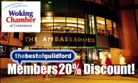 20% Discount for bestofguildford Members!