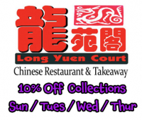 10% OFF COLLECTIONS - SUN, MON, WED & THURSDAY