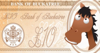 £10 Voucher from The Bank of Buckatree