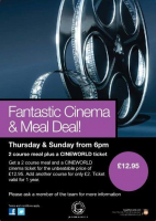 Cinema & Meal Deal