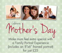 Mother's Day Special – Family Portrait Experience just £25