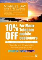 Great offer for Manx Telecom customers