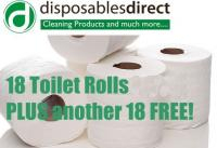 18 Toilet rolls for £8, and another 18 for FREE!