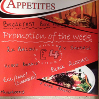 Appetites Breakfast Box FRIDAY! Now ONLY £4!