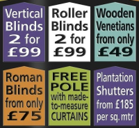Great deals on Blinds from Bob the Blindman