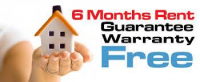 6 Months Free Rent Guarantee Warranty