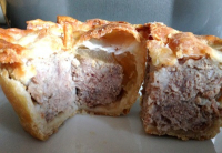 Home Made Pies, From Pork to Stilton and Mushroom.