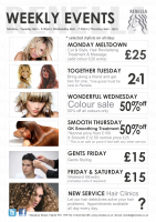 Check out our Weekly Events for Fantastic Savings!