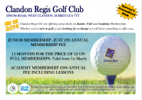 Junior Membership offer!