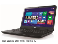 Dell Inspiron Laptop Offer - £349.99 from Telemat IT