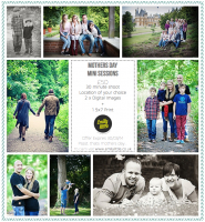 MOTHER'S DAY SPECIAL OFFER!! - Family photo shoot and 1 print for £50