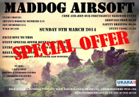 MadDog Airsoft Package £25 usually £40