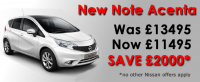 Dicksons have done it again, new cars with massive savings.