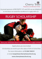 Rugby Scholarship Available