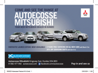 Mitsubishi Launch Offer