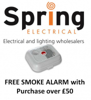 FREE Smoke Alarm with Purchase over £50