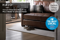 Viscount William Sofa 25% off rrp