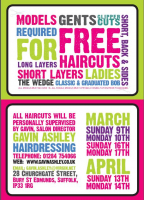 Free Haircuts -Men and Women