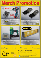 March promotion from Asset Fixings and Tools