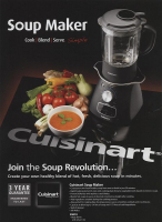 Cuisinart Soup Maker SALE PRICE £99.00 (normal price £140.00)