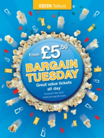 Bargain Tuesday at Telford Odeon