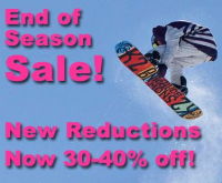 Snowboard Shop Sale