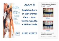 £100 OFF Philips Zoom WhiteSpeed TEETH WHITENING!