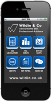 Download our FREE Wildin & Co TaxApp