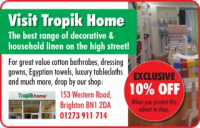 Refresh your Linen. 10% Discount on all Home Linen @ Tropik Home