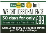 £ for 1Ib weight loss challenge