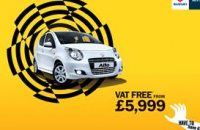 Suzuki Alto – VAT free from £5999. Have to have one?