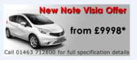 Note Visia Special Edition and special offer from £9998.