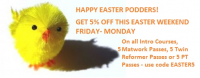 Easter Offer from the Pilates Pod