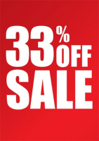 33% OFF on Wednesdays and Saturdays!