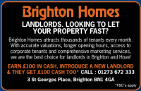 £200 Cash to Share for Introducing a New Landlord