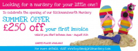 OFFER EXTENDED - £250 off your first invoice