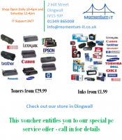Ink and Toner offers from Momentum iT