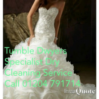 Back by popular demand: Have your wedding dress cleaned at Tumble Dwyers for only £70