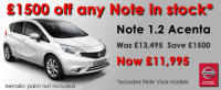 New Nissan Note - Summer offer from Dicksons of Inverness