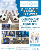 Get fit during the Football This Summer
