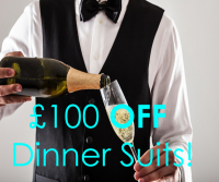 £100 off Dinner Suits