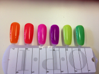6 NEW Bright Neon Colours Available