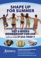 Shape up for summer for just £49!